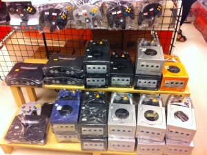 The game consoles were so cheap!!!