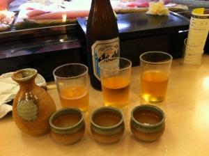 Sake Bombs!!!!!