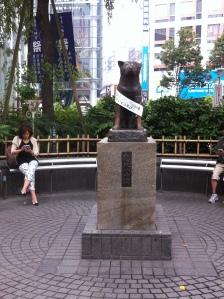 Hachikō Statue