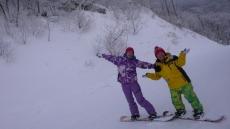 Snowboarding at High 1 Ski Resort